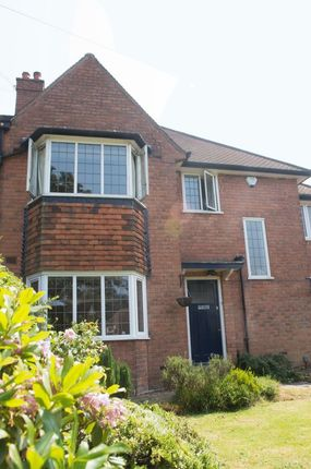 Thumbnail Semi-detached house to rent in Heath Road South, Birmingham