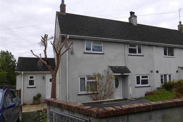 Thumbnail Semi-detached house to rent in Church Lane, Cargreen, Saltash
