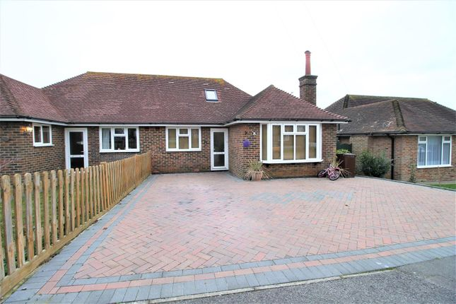 Thumbnail Semi-detached bungalow for sale in Danecourt Close, Bexhill-On-Sea