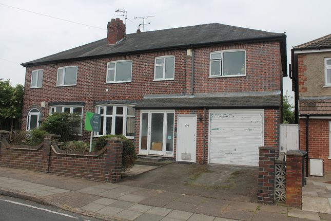 Thumbnail Semi-detached house for sale in Gainsborough Road, Leicester
