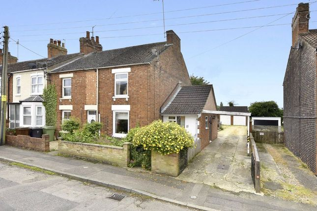 Thumbnail End terrace house for sale in Mulso Road, Finedon, Northamptonshire