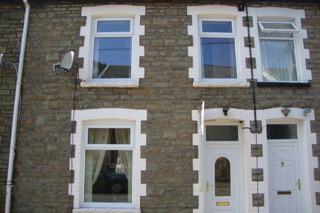 Thumbnail Terraced house to rent in Evelyn Street, Abertillery