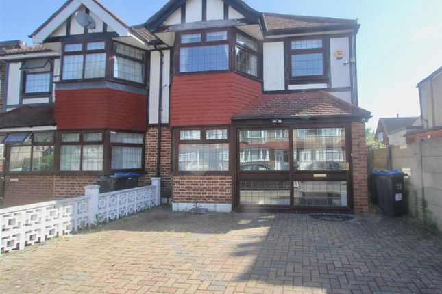 Thumbnail Semi-detached house for sale in Greenwood Road, Mitcham, Surrey