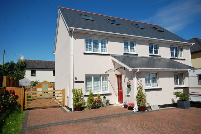 Thumbnail Semi-detached house for sale in Wooden, Saundersfoot