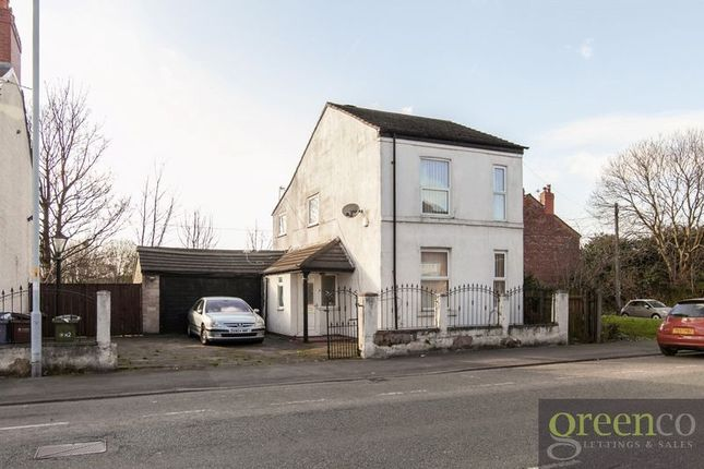 Thumbnail Detached house for sale in Gorton Road, Reddish, Stockport