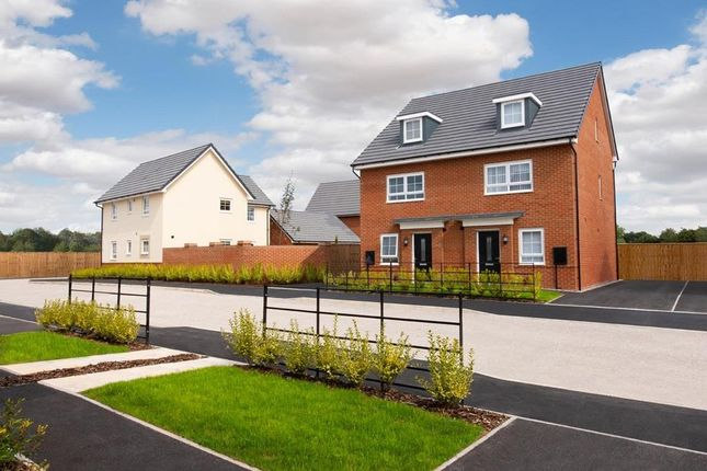 """Thumbnail Semi-detached house for sale in """"Queensville"""" at Orchid Green, Northwich"""