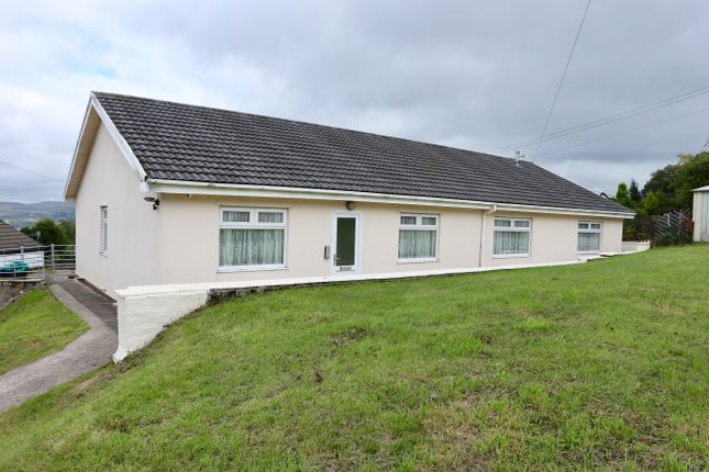Thumbnail Detached bungalow for sale in Maes Meyrick, Heolgerrig, Merthyr Tydfil