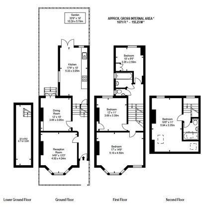 Thumbnail Property to rent in Harbut Road, London