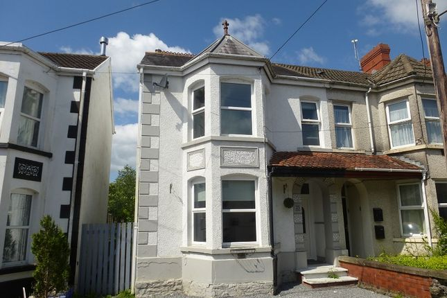 Thumbnail Semi-detached house for sale in Tirycoed Road, Glanamman, Ammanford, Carmarthenshire.