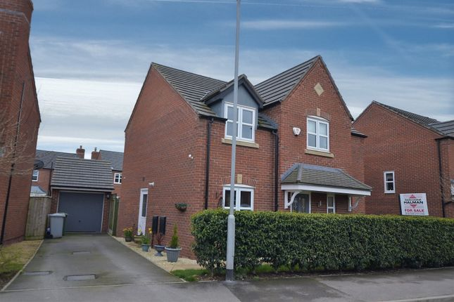 Thumbnail Detached house for sale in Whatcroft Way, Middlewich