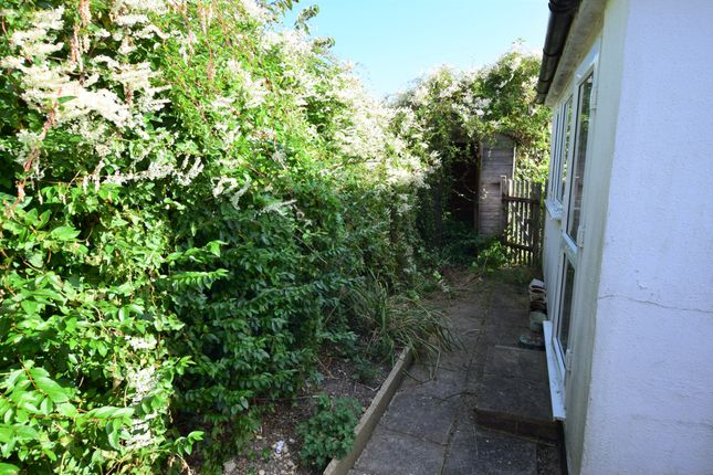 Rear Garden of Coast Road, Pevensey Bay BN24