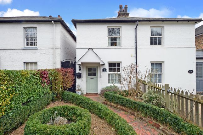 Thumbnail Semi-detached house for sale in Yew Cottages, Portsmouth Road, Thames Ditton