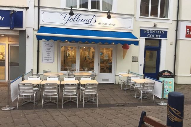 Thumbnail Restaurant/cafe for sale in Little Triangle, Teignmouth