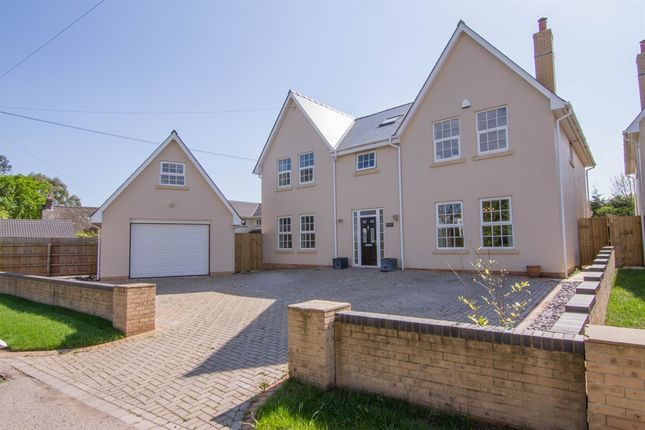Thumbnail Detached house for sale in Church Road, St. Brides, Wentlooge