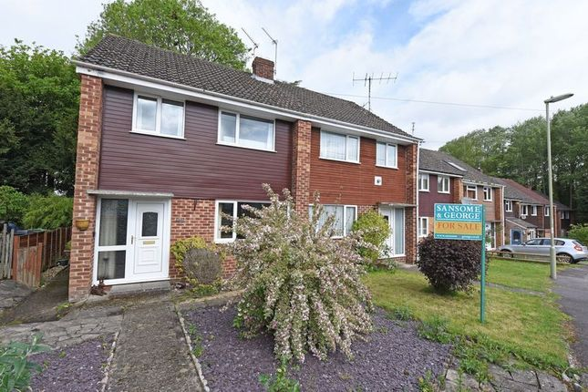Thumbnail Semi-detached house for sale in Fawconer Road, Kingsclere, Newbury