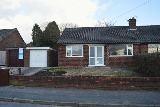 Thumbnail Semi-detached bungalow to rent in Lyne Edge Road, Dukinfield