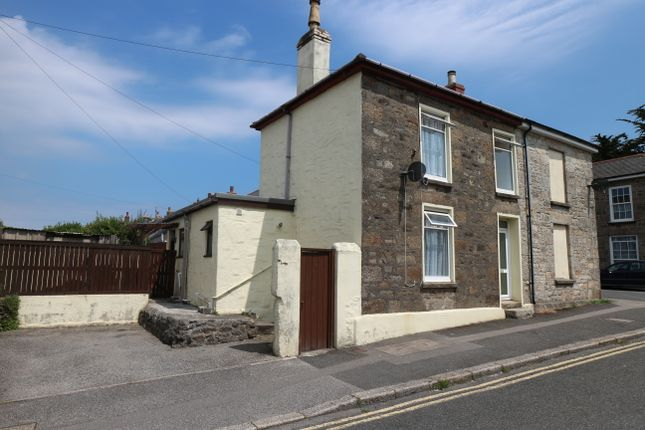 Thumbnail Semi-detached house for sale in Stray Park Road, Camborne
