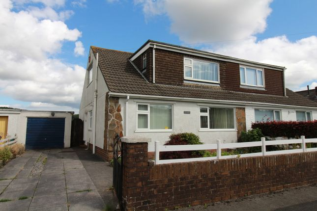 Thumbnail Semi-detached bungalow for sale in Maesglas, Tredegar