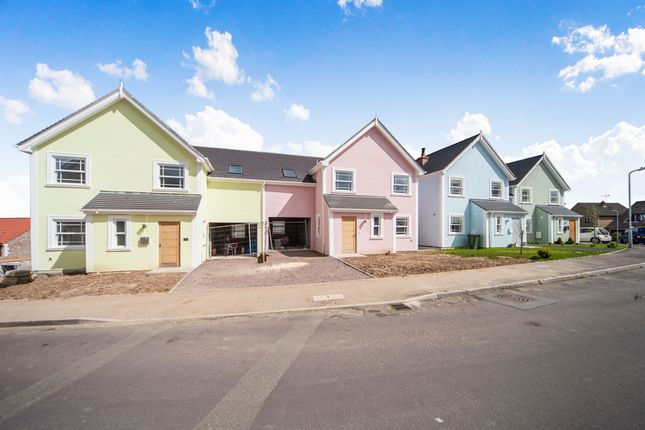 Thumbnail Semi-detached house for sale in Langdons Way, Tatworth, Chard
