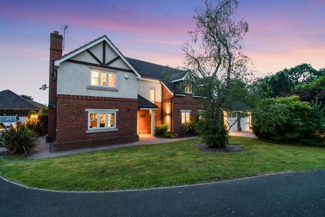 Thumbnail Detached house for sale in Elford Close, Streetly, Sutton Coldfield