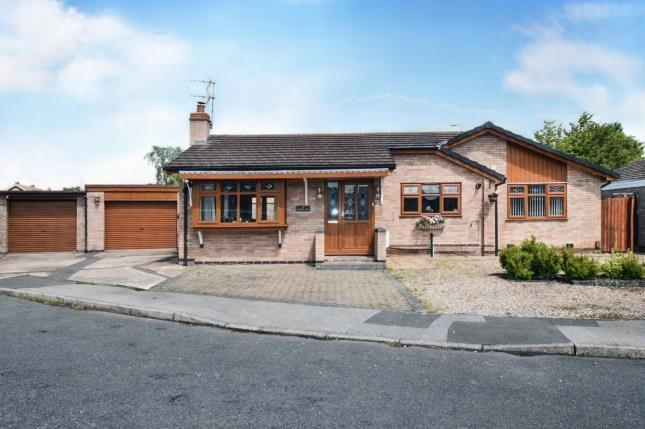 Thumbnail Bungalow for sale in Gayhurst Close, Wigston, Leicester, Leicestershire