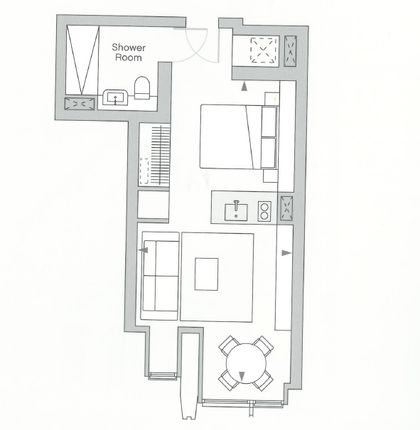 Floorplan of Upper Ground, London SE1