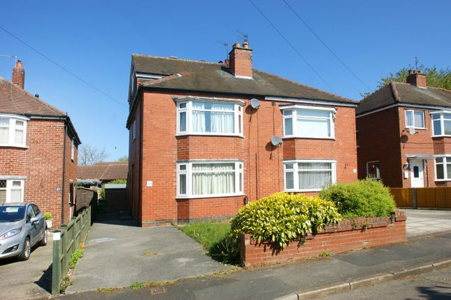 Thumbnail Semi-detached house for sale in Westfield Drive, York