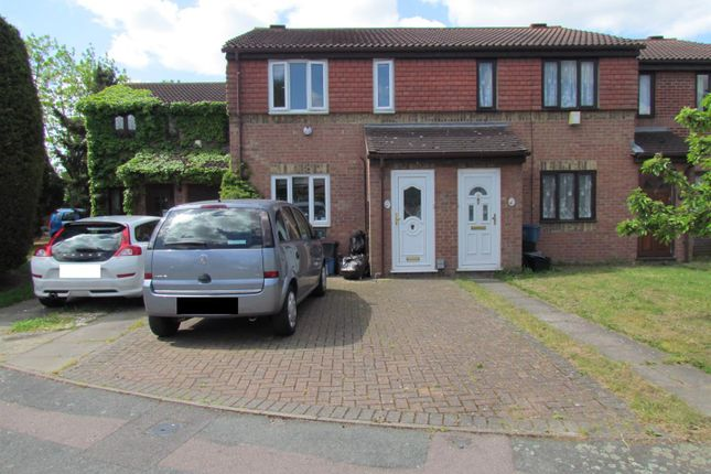 Thumbnail Terraced house to rent in Plowman Way, Chadwell Heath, Romford