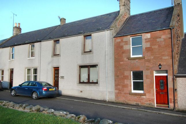 Thumbnail Terraced house for sale in Church Street, Greenlaw, Duns