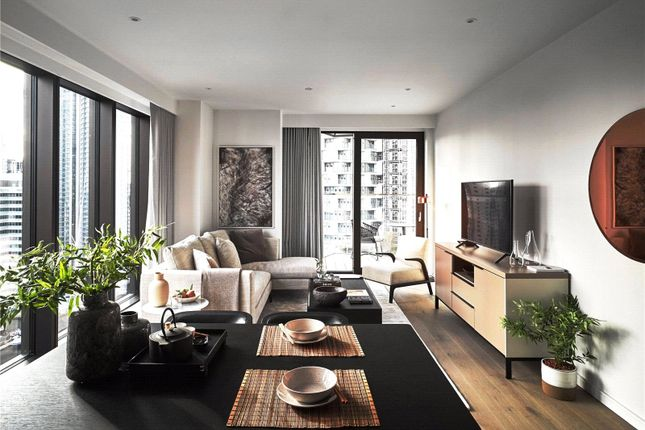 Thumbnail Flat to rent in 10 George Street, Canary Wharf, London