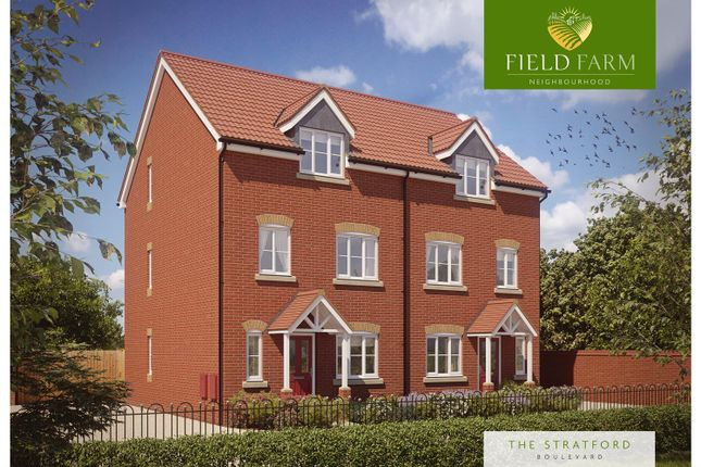 Thumbnail Semi-detached house for sale in Field Farm, Ilkeston Road, Stapleford