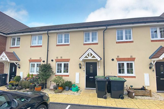Thumbnail Terraced house for sale in Davy Drive, Shefford, Bedfordshire
