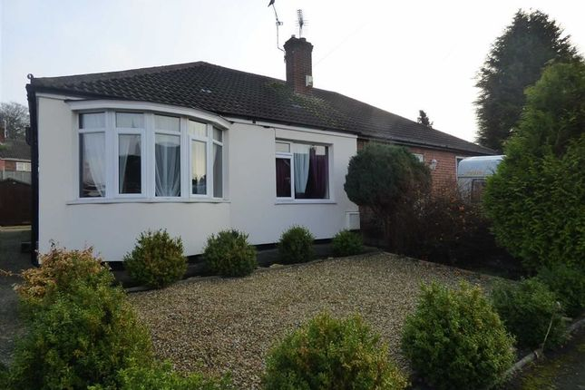 Thumbnail Bungalow for sale in Mayflower Close, Gainsborough