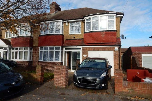 Thumbnail Semi-detached house to rent in Stirling Road, Hayes