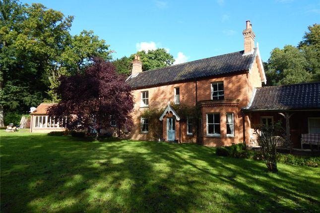 Thumbnail Detached house for sale in Melton Park, Melton Constable, Norfolk