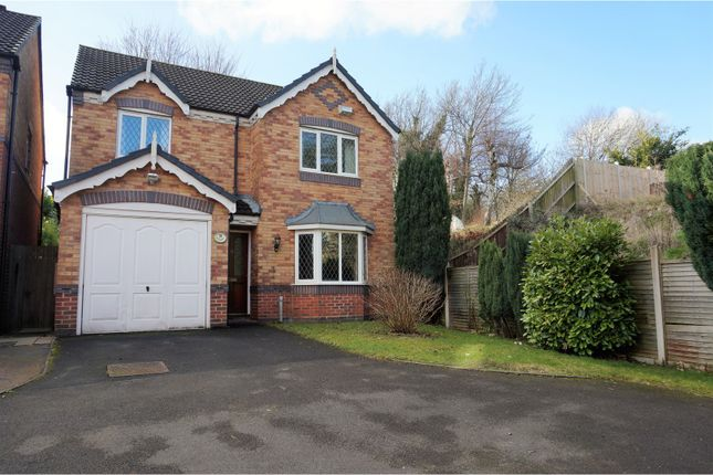 4 bed detached house for sale in Bullrush Glade, St Georges Telford