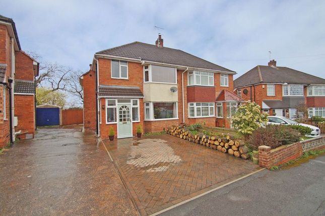 Thumbnail Semi-detached house for sale in Meadowhill Crescent, Redditch