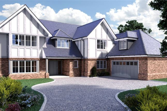 Thumbnail Detached house for sale in Priory Road, Sunningdale, Ascot, Berkshire