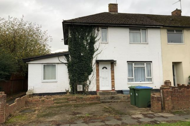 Thumbnail End terrace house for sale in Tosson Close, Millbrook, Southampton, Hampshire