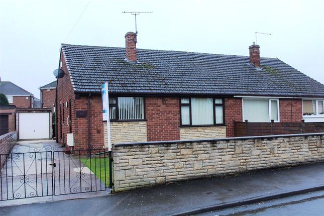 Thumbnail Semi-detached bungalow to rent in Denholme Meadow, South Elmsall, Pontefract, West Yorkshire