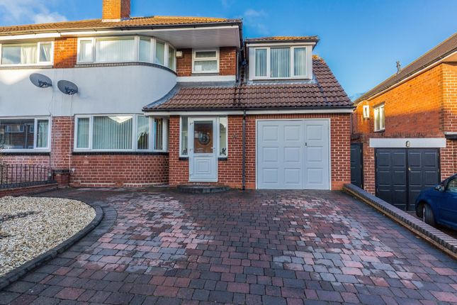 Thumbnail Semi-detached house for sale in Warley Croft, Oldbury