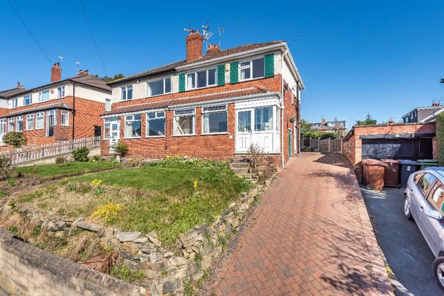 Thumbnail Semi-detached house for sale in Wensley Road, Meanwood, Leeds
