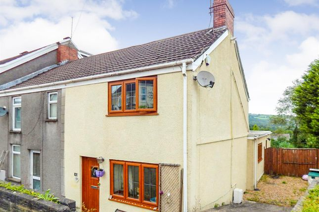 Thumbnail End terrace house for sale in Cefn Road, Glais, Swansea