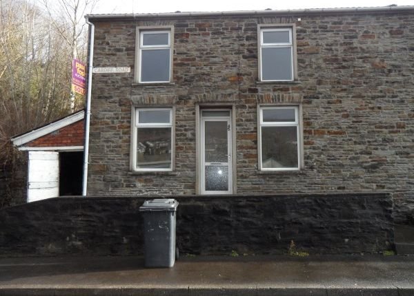 Thumbnail Terraced house to rent in Cardiff Road, Mountain Ash