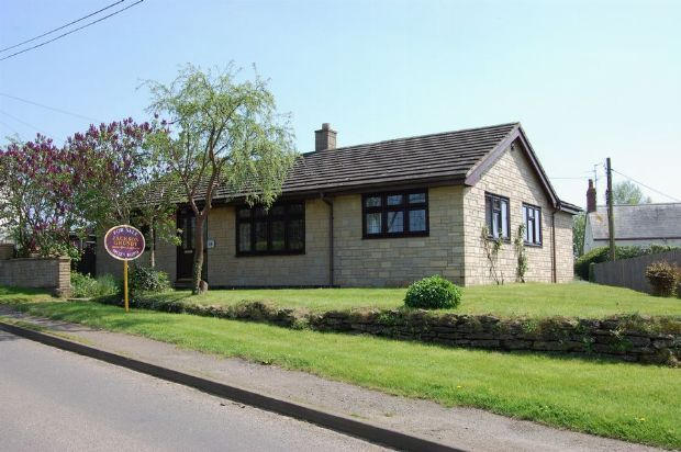 Thumbnail Detached bungalow for sale in Cotton End, Long Buckby, Northampton
