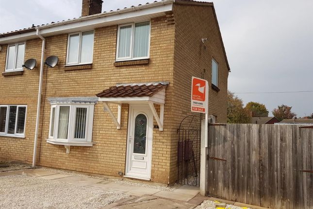 Thumbnail Semi-detached house for sale in Station View, Shirebrook, Mansfield