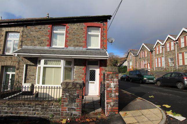 Thumbnail End terrace house for sale in Beckett Street, Mountain Ash