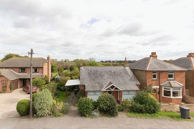 Thumbnail Detached bungalow for sale in Deal Road, Sandwich