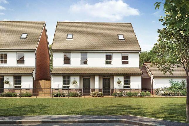 "Thumbnail Semi-detached house for sale in ""Knighton"" at Hamble Lane, Bursledon, Southampton"