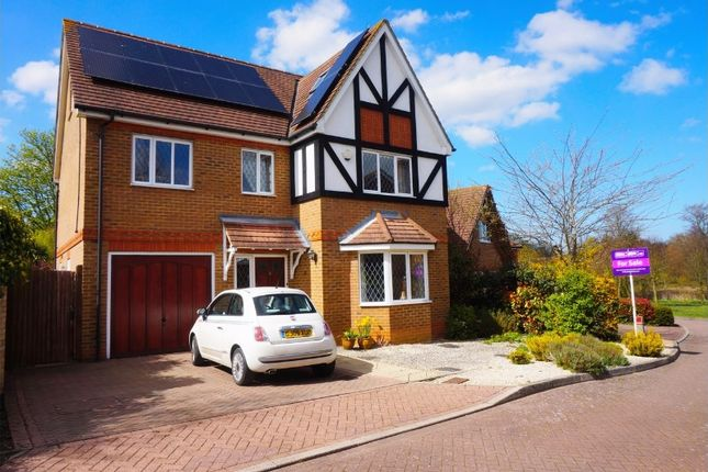 Thumbnail Detached house for sale in Millstream Green, Willesborough, Ashford